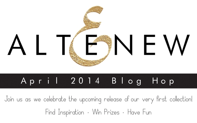 Altenew blog hop banner