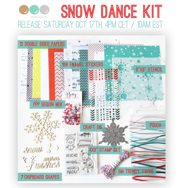 snow dance kit - graphic